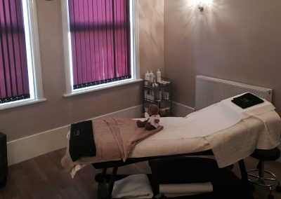 Beauty Facial Treatment Room